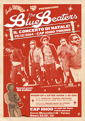 the bluebeaters concerto di natale